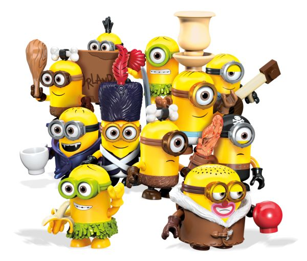 241012 MINIONS MOVIE BLIND BAG MEGA BLOKS