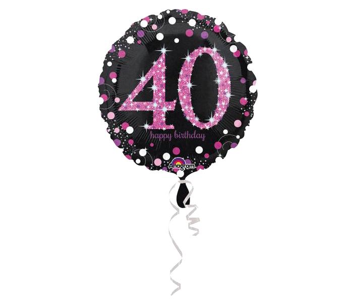 370302 Folienballon am Stab Champagner Flasche luftbefüllt